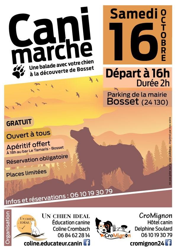 Best of Bergerac Agenda Animaux Cani marche Hôtel canin Cromignon